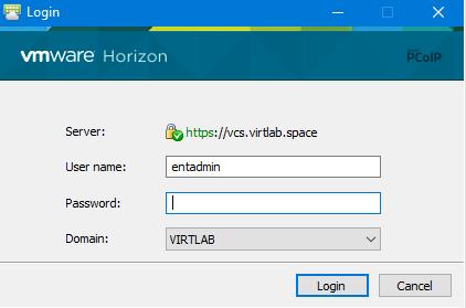 Настройка двухфакторной аутентификации в VMware Horizon View 7 c использованием OTP и сервера JAS - 11