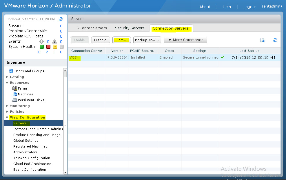 Настройка двухфакторной аутентификации в VMware Horizon View 7 c использованием OTP и сервера JAS - 3