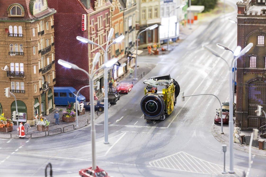Google Street View в миниатюре: как мини-технологии работают в мини-мире - 1