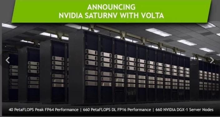 Nvidia хочет создать для себя ещё один суперкомпьютер