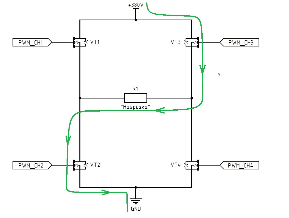 DC-AC инвертор: принцип работы, схемотехника, встроенное ПО - 6