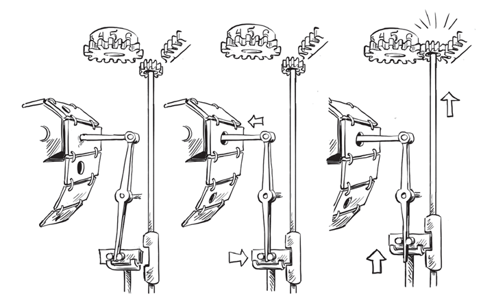 Паровой компьютер или разностная машина Бэббиджа 1840 года - 14