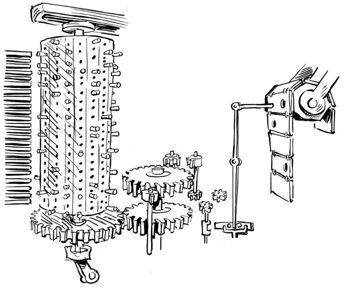 Паровой компьютер или разностная машина Бэббиджа 1840 года - 19