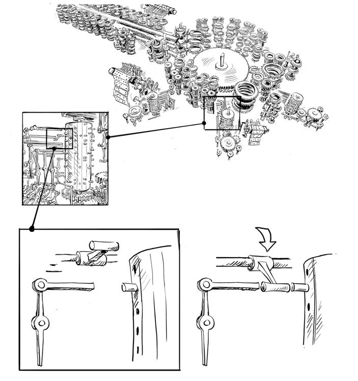 Паровой компьютер или разностная машина Бэббиджа 1840 года - 25