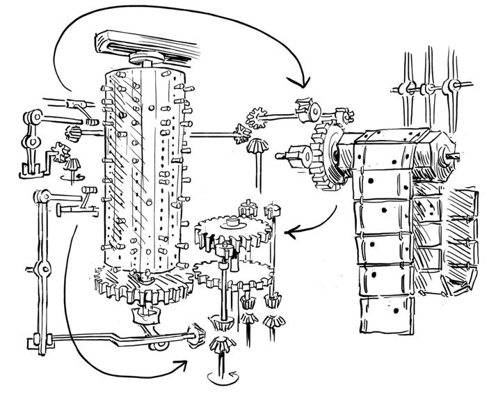 Паровой компьютер или разностная машина Бэббиджа 1840 года - 26