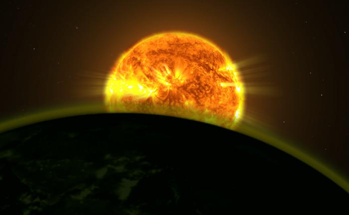 Использование подсвеченной атмосферы планет для поисков внеземной жизни - 1