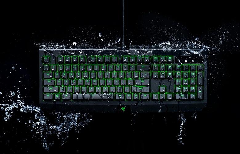 Клавиатура Razer BlackWidow Ultimate характеризуется степенью защиты IP54