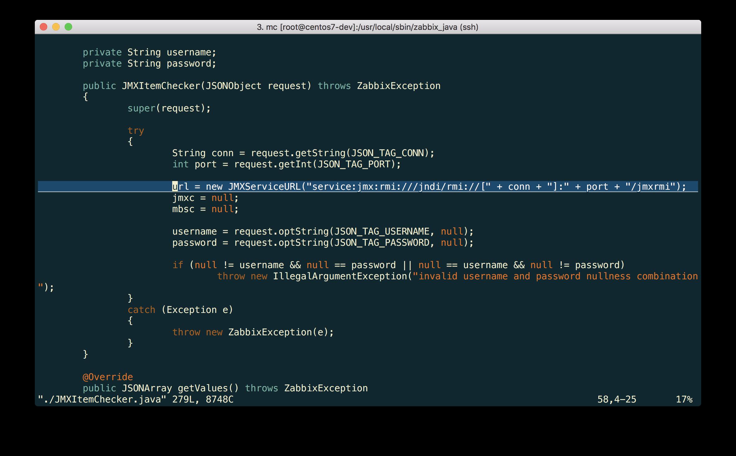 Новые возможности мониторинга Java приложений в Zabbix 3.4 - 2