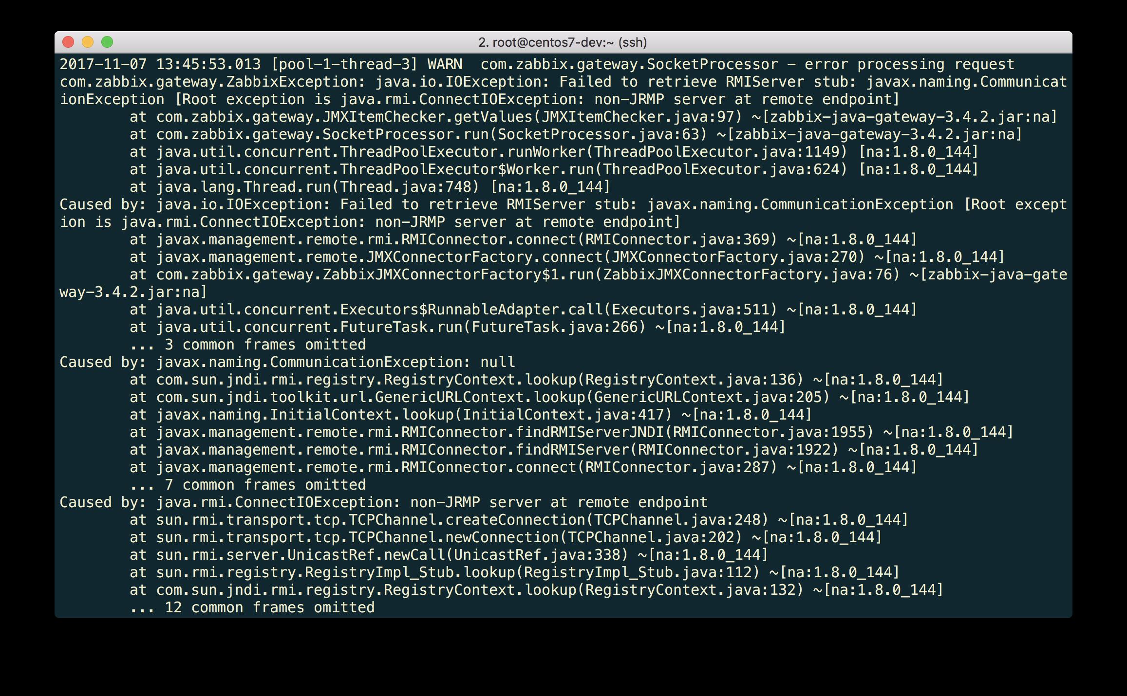 Новые возможности мониторинга Java приложений в Zabbix 3.4 - 7