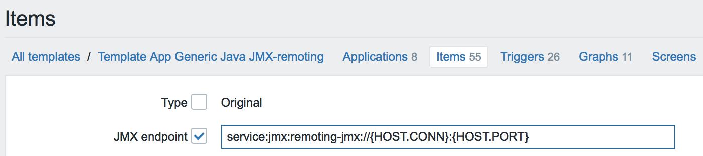 Новые возможности мониторинга Java приложений в Zabbix 3.4 - 8