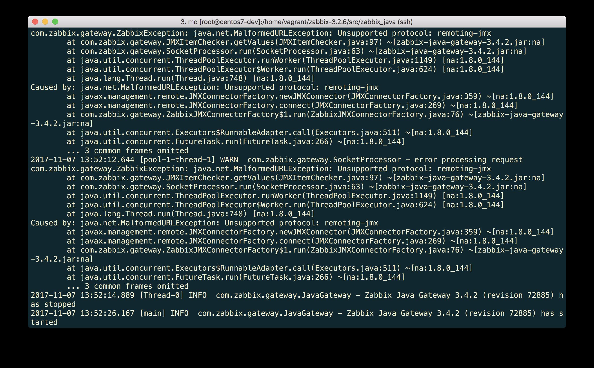 Новые возможности мониторинга Java приложений в Zabbix 3.4 - 9
