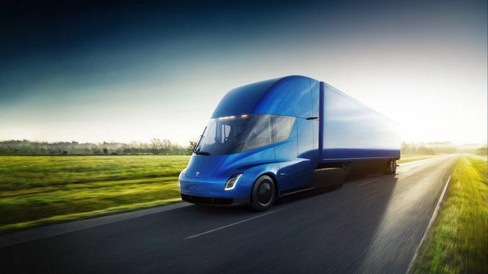 Грузовик Tesla Semi сможет разгоняться до 96 км/ч за 5 с, а его запас хода составит 800 км