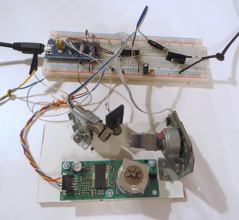 Самодельный текстовый лазерный проектор - 6