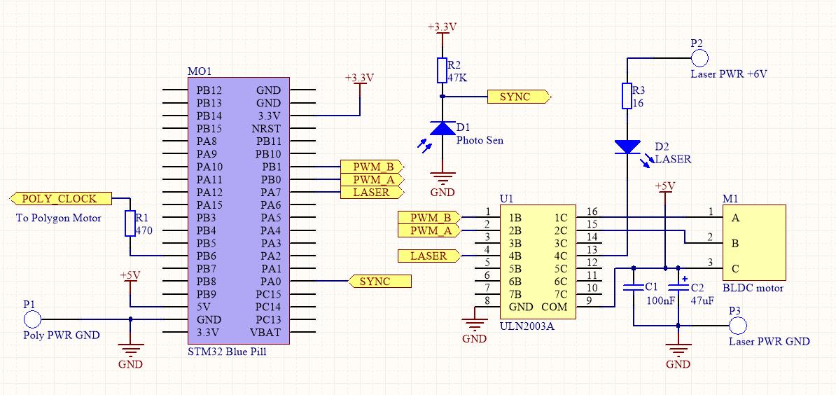 Самодельный текстовый лазерный проектор - 8