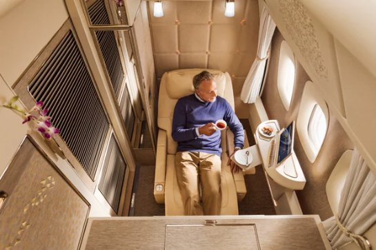 Появились детели нового дизайна бортов Emirates Airline