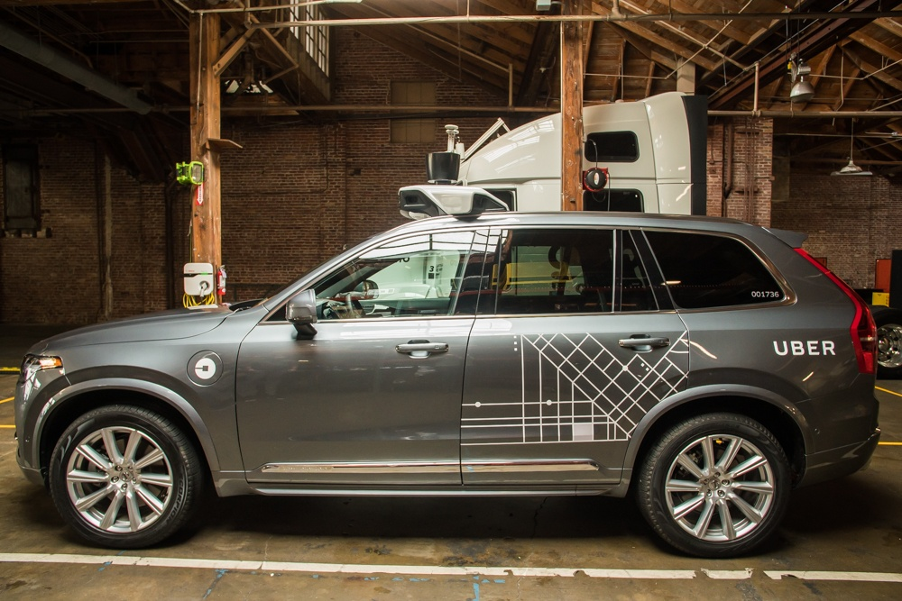 Uber заказал у Volvo 24000 беспилотных автомобилей - 1