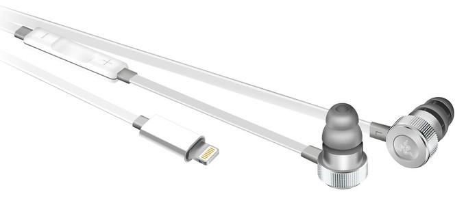 В продажу поступила гарнитура Razer Hammerhead iOS Mercury Edition