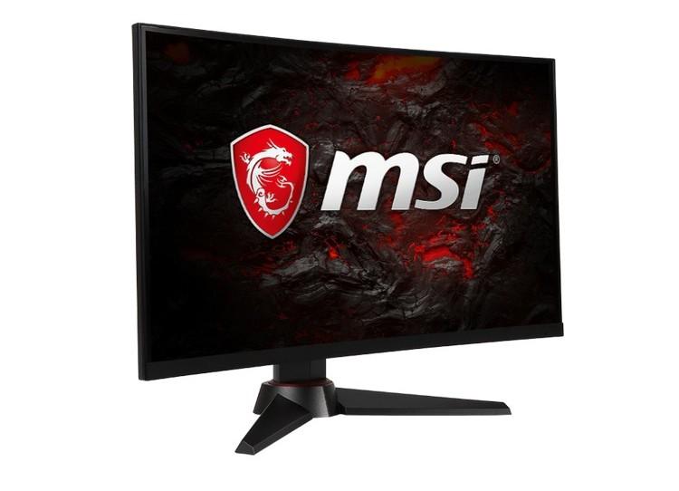 Монитор MSI Optix MAG24C имеет кадровую частоту до 144 Гц
