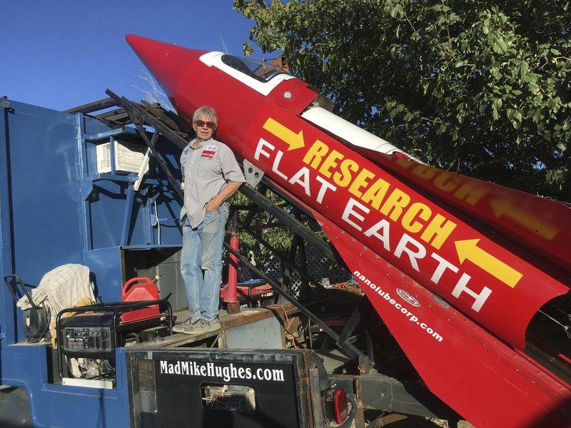 Сторонник «плоской Земли» проведет в субботу запуск ракеты - 1