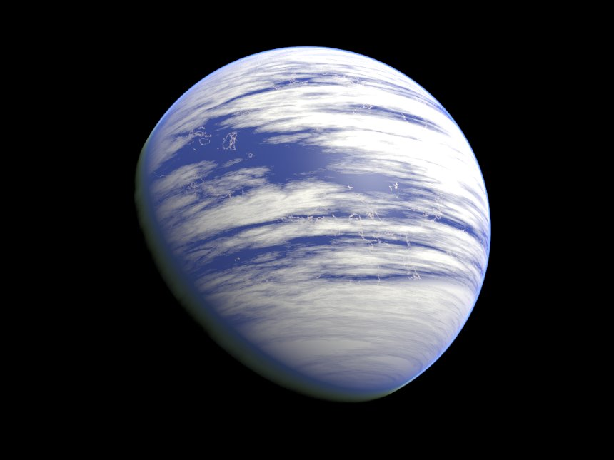 Ученые считают, что на планетах-океанах не может существовать жизнь