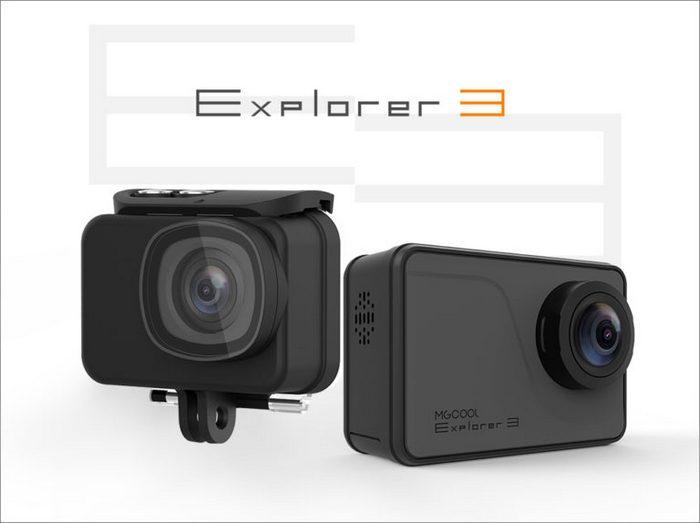 Экшн-камера MGCool Explorer 3 будет поддерживать запись видео разрешением 4К при 30 к/с