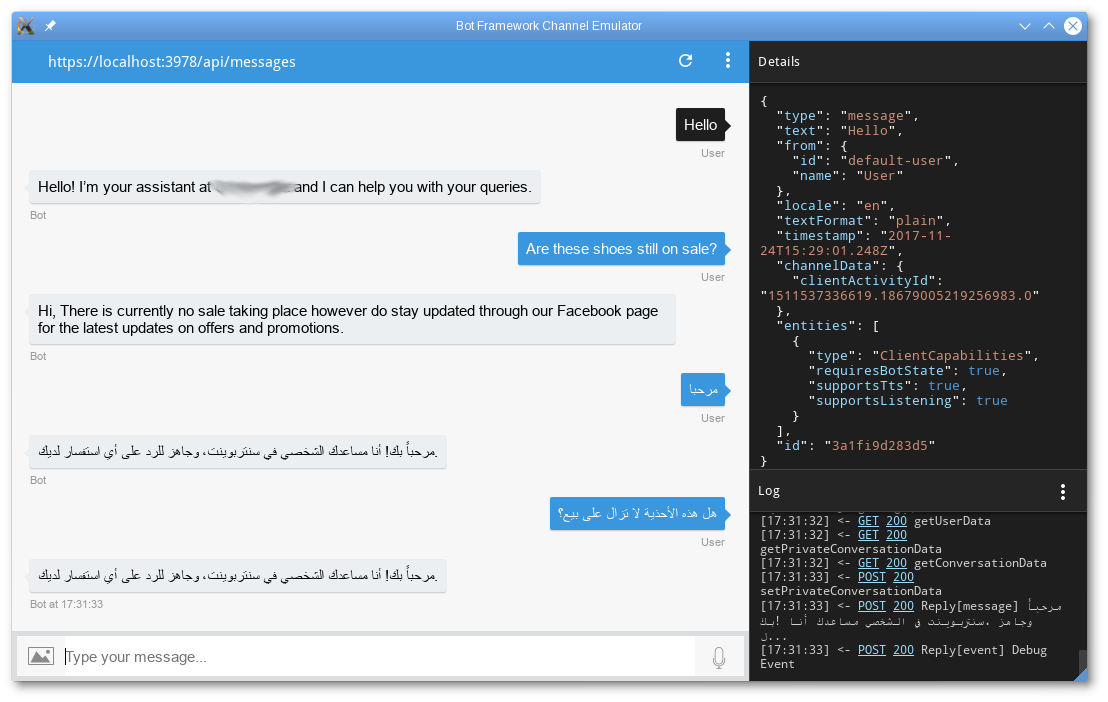 Microsoft Bot Framework + IBM Watson=… би-лингвистический бот - 2
