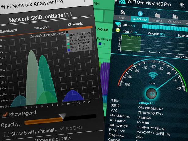 Немного об анализаторах Wi-Fi покрытия на Android - 1