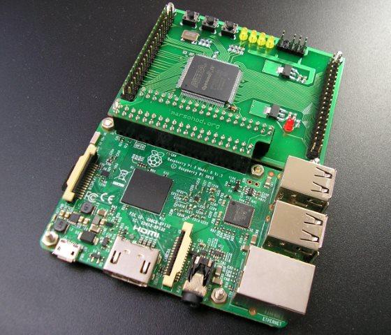 FPGA плата к Raspberry Pi - 2