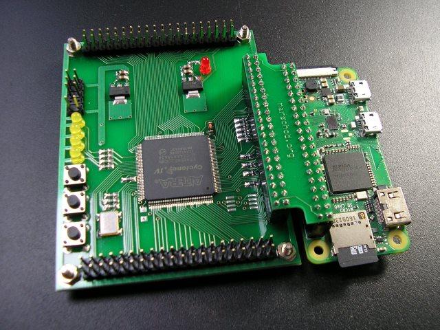 FPGA плата к Raspberry Pi - 3