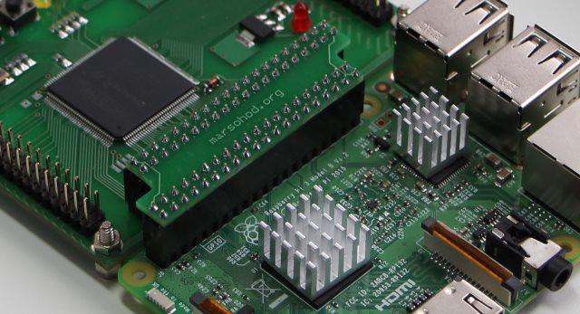 FPGA плата к Raspberry Pi - 1