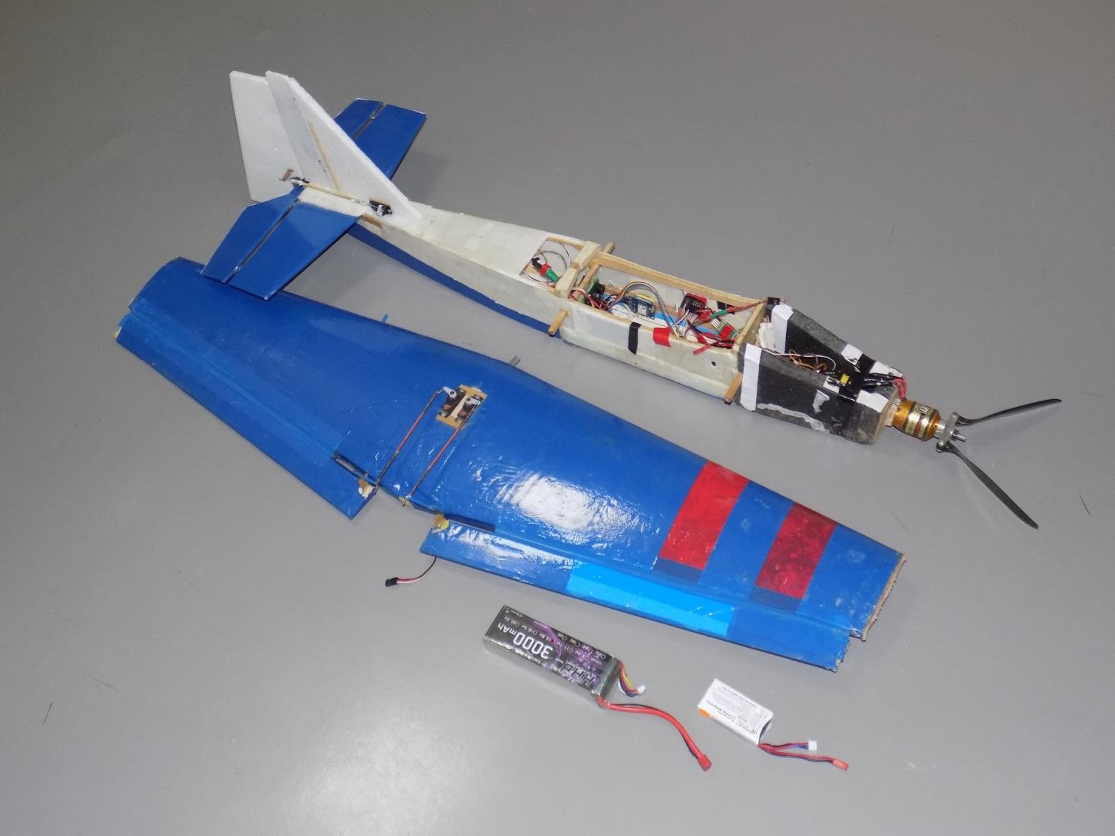 Пилотажный ДПЛА. Часть 2. Простейшая модель движения для выполнения бочки - 36