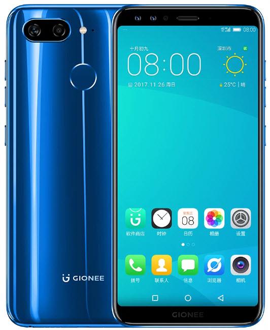 Представлены полноэкранные смартфоны Gionee S11 и S11S