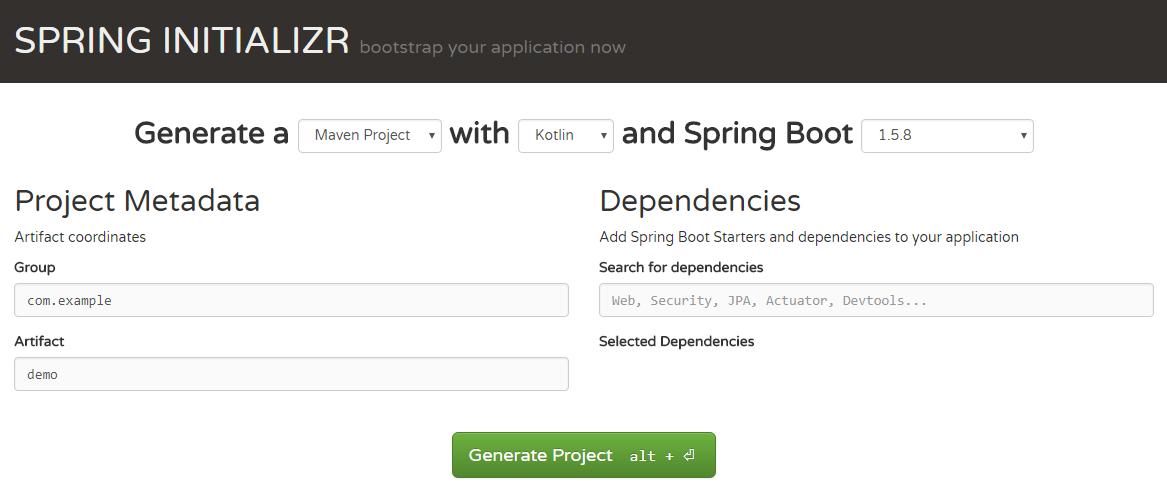 Наипростейший RESTful сервис на Kotlin и Spring boot - 1
