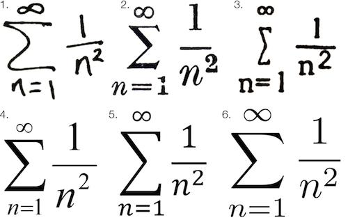 От кипящего свинца до компьютеров: история математической типографики - 1