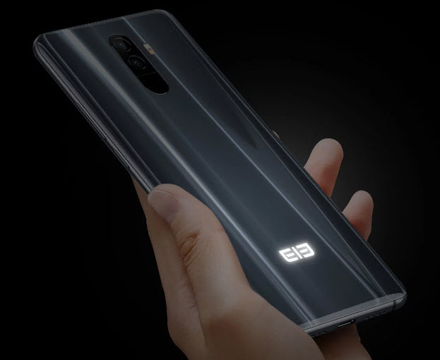 Смартфон Elephone S9 получит гибкий экран и логотип с подсветкой