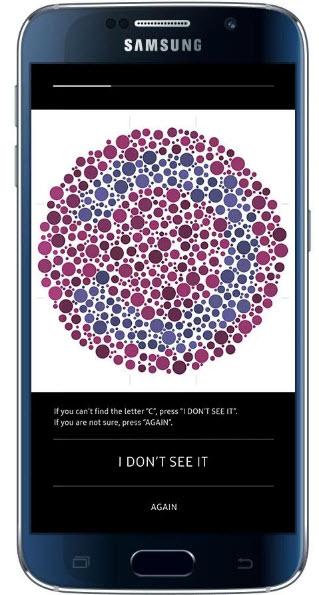 Телевизионное приложение Samsung SeeColors предназначено для людей, страдающих дальтонизмом