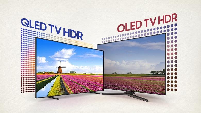 Технология QLED пока не может побороть OLED
