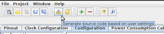 Настройка Sublime Text 3, SW4 и STM32CubeMX для разработки STM32 под Linux - 10