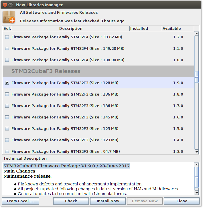 Настройка Sublime Text 3, SW4 и STM32CubeMX для разработки STM32 под Linux - 3
