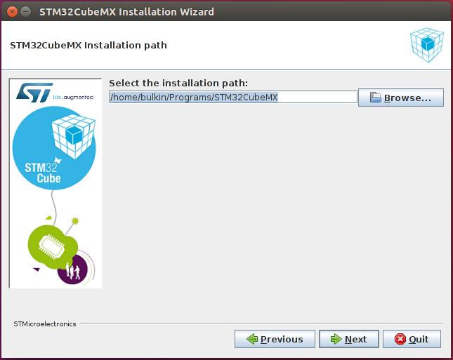 Настройка Sublime Text 3, SW4 и STM32CubeMX для разработки STM32 под Linux - 1