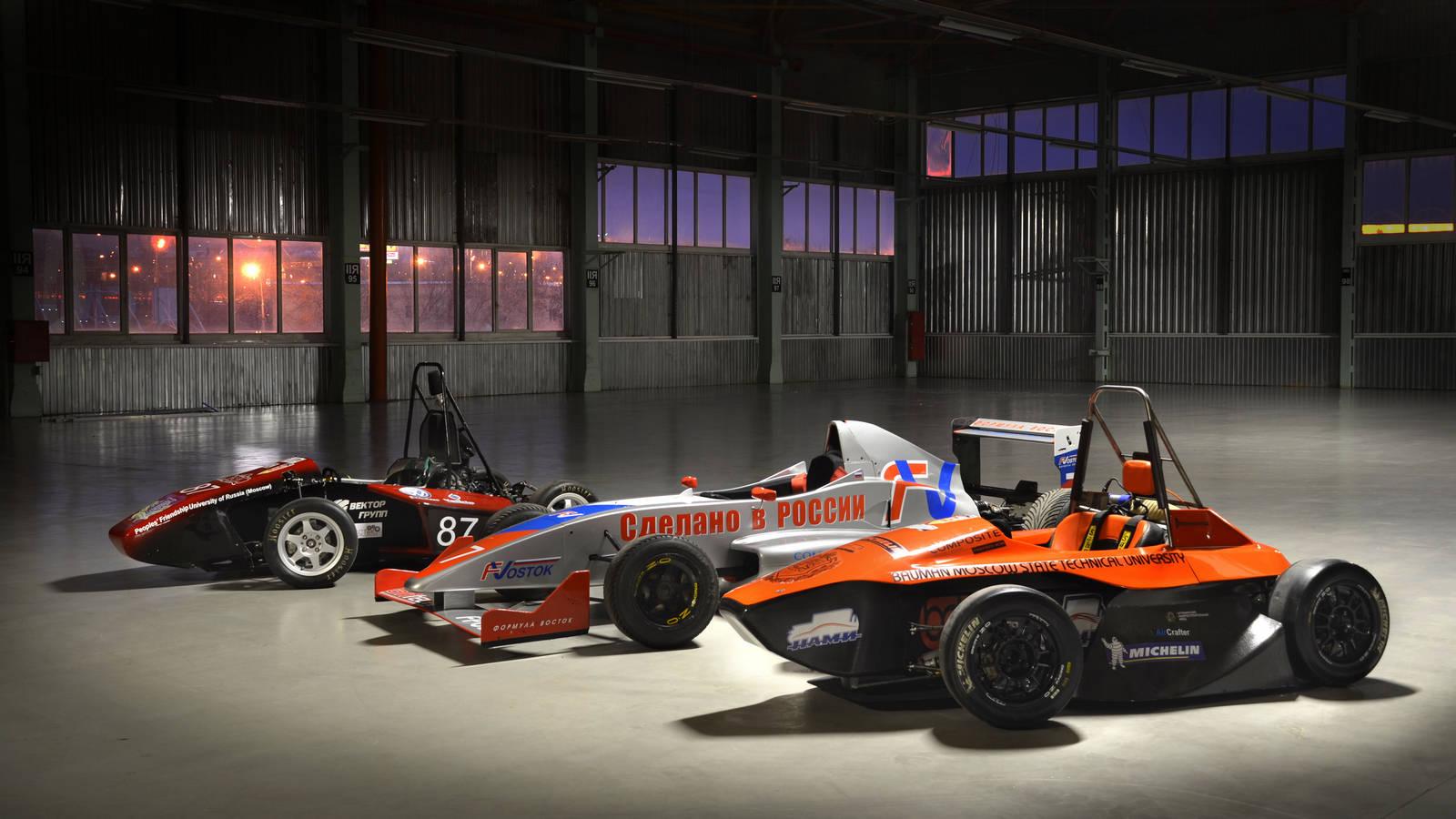 Bauman Racing Team и «Формула студент»: как Lenovo ThinkServer помогает побеждать в европейских гонках - 1