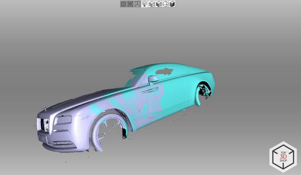 [КЕЙС] Как мы сканировали Rolls-Royce Wraith для тюнинга - 11