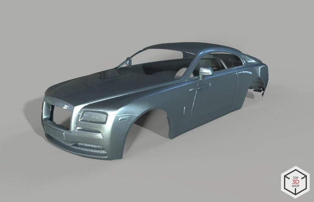 [КЕЙС] Как мы сканировали Rolls-Royce Wraith для тюнинга - 13
