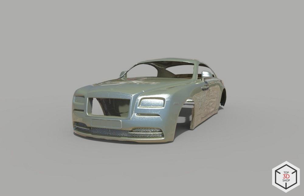 [КЕЙС] Как мы сканировали Rolls-Royce Wraith для тюнинга - 5
