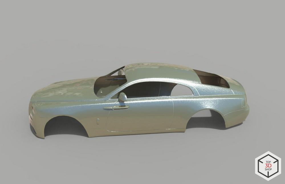 [КЕЙС] Как мы сканировали Rolls-Royce Wraith для тюнинга - 6