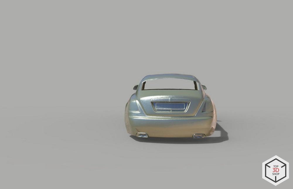 [КЕЙС] Как мы сканировали Rolls-Royce Wraith для тюнинга - 7