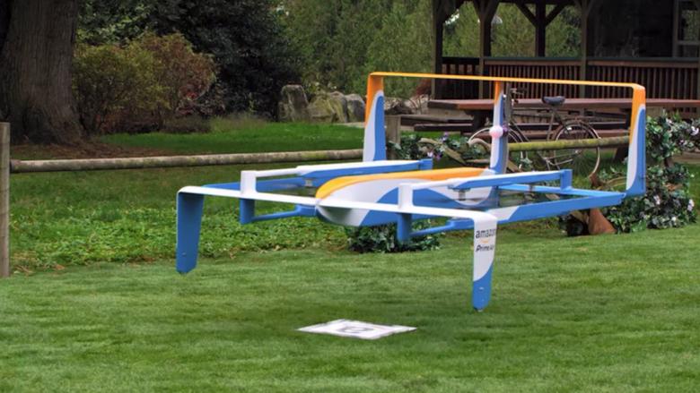 Дроны Amazon могут получить функцию саморазрушения в полёте