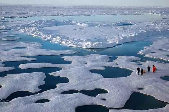 Арктические моря получают подпитку от грунтовых вод