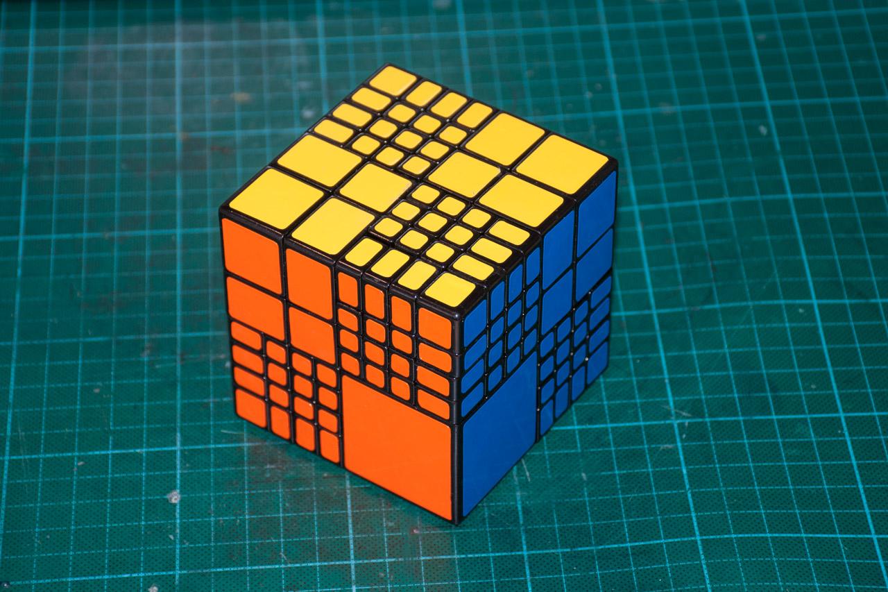 3х5х7 Cuboid или пилим Кубик Рубика - 18