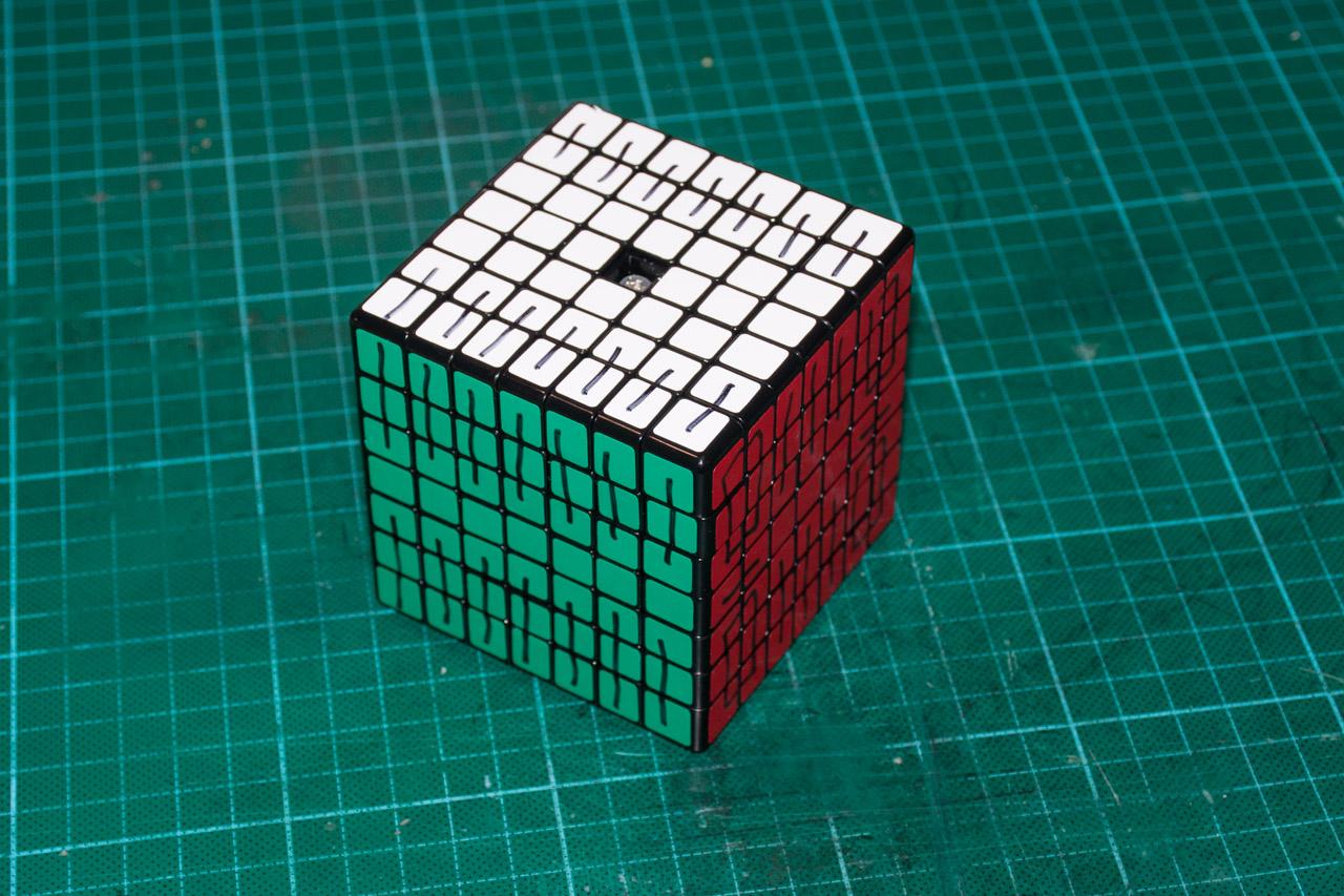 3х5х7 Cuboid или пилим Кубик Рубика - 3